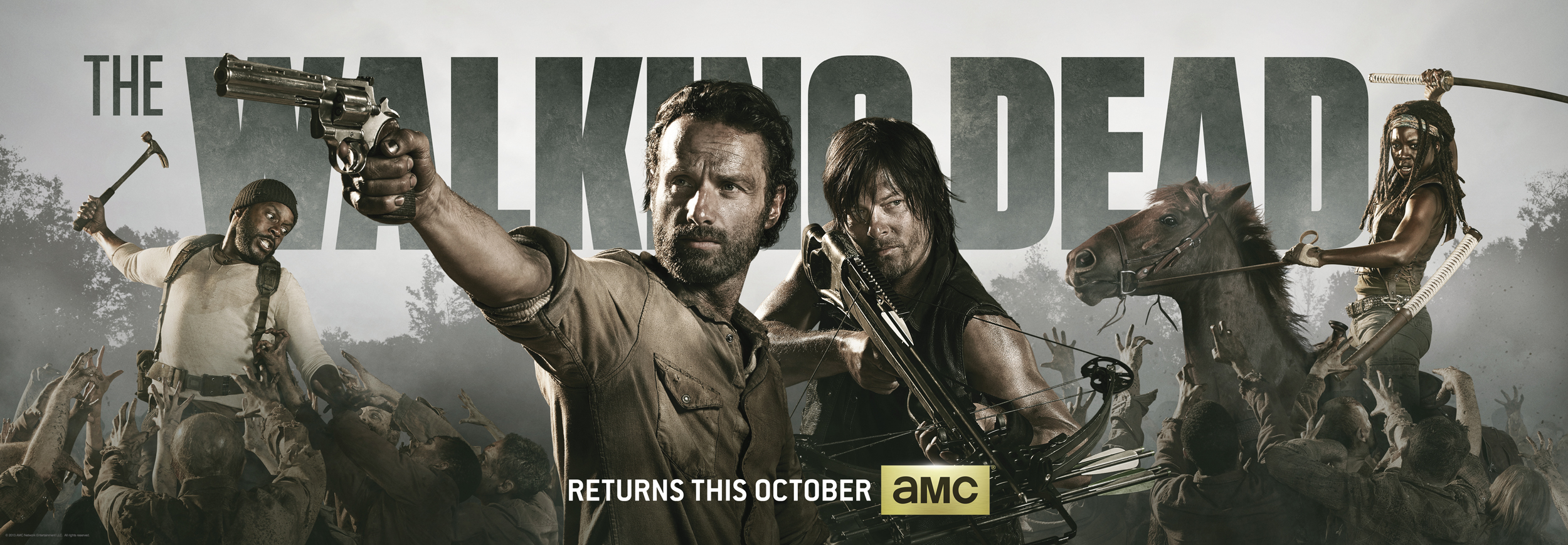 THE WALKING DEAD SEASON 5 TRAILER (San Diego Comic Con) [informacion ...