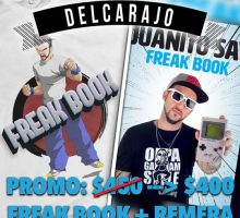 PROMO: Freak Book + Remera