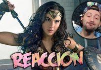 WONDER WOMAN Comic-Con Trailer   REACCION   Juanito Say