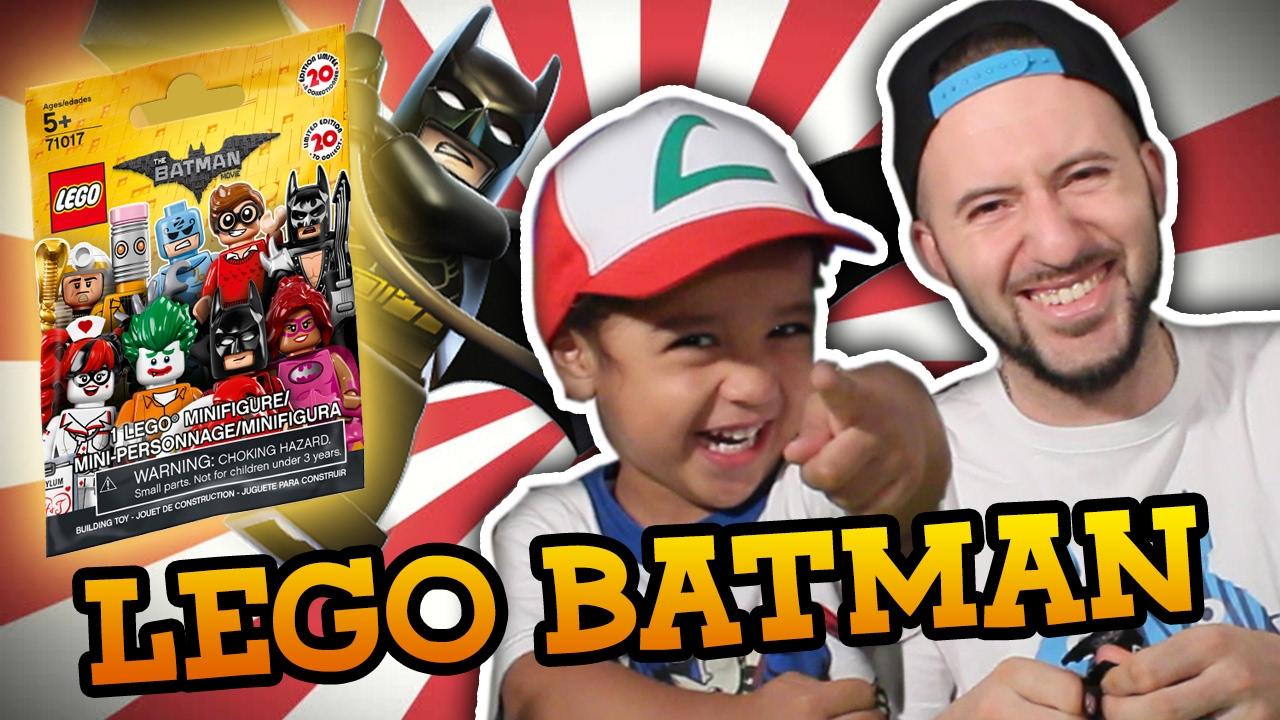 LEGO BATMAN MINIFIGURES: Abrimos 3 paquetes y armamos los juguetes con Lauti!